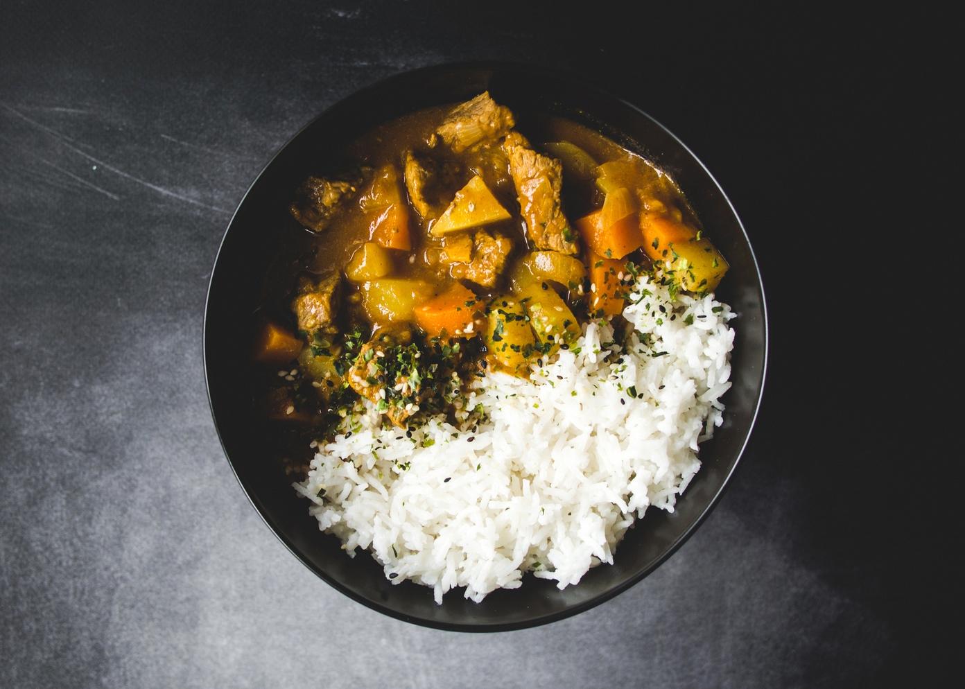 Japońskie curry z ryżem