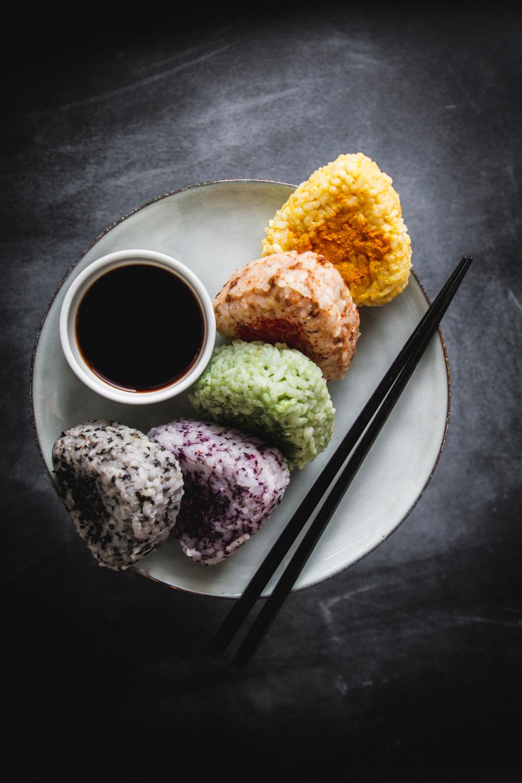 Onigiri. Kanapki ryżowe