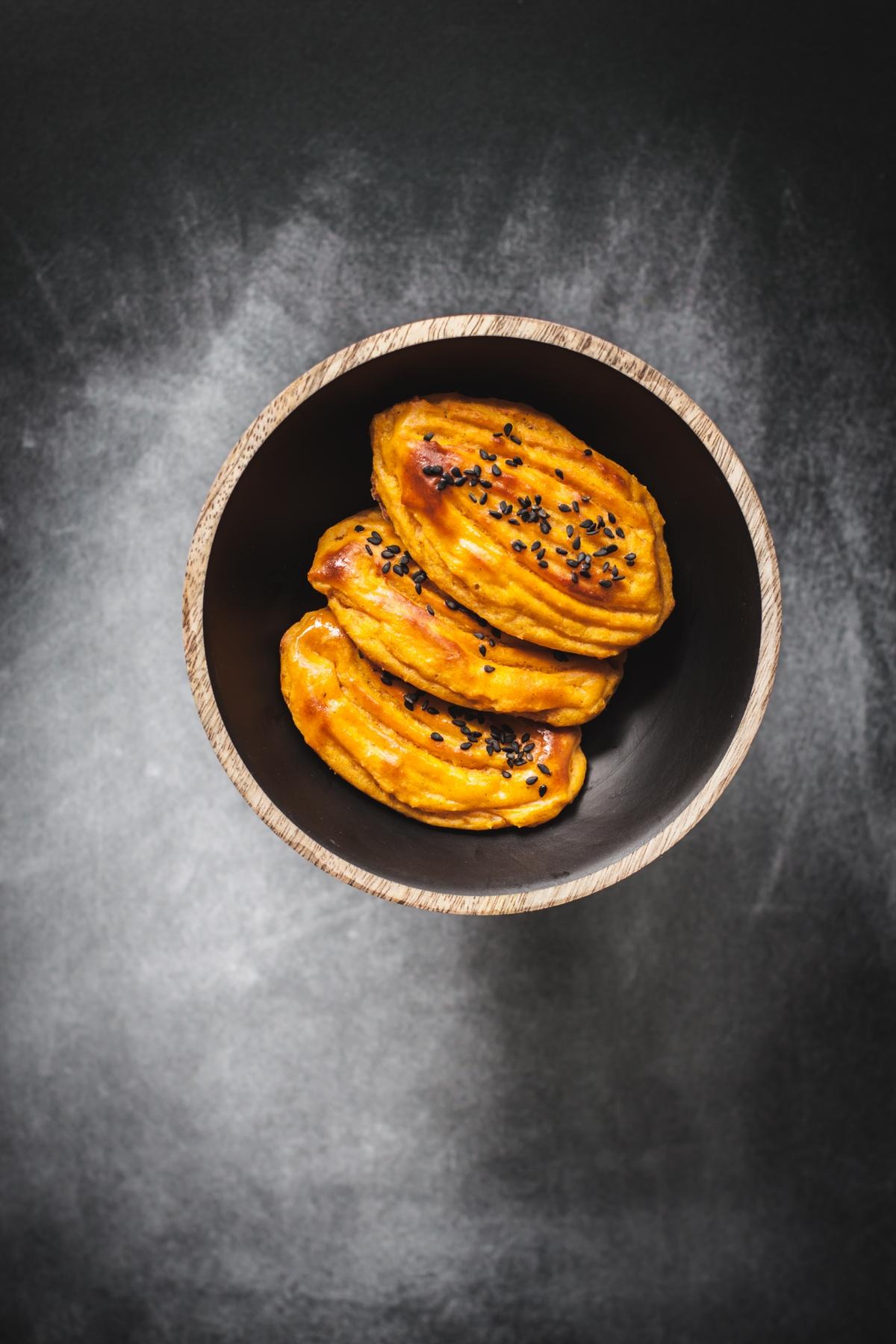 Słodkie ziemniaki podwójnie pieczone