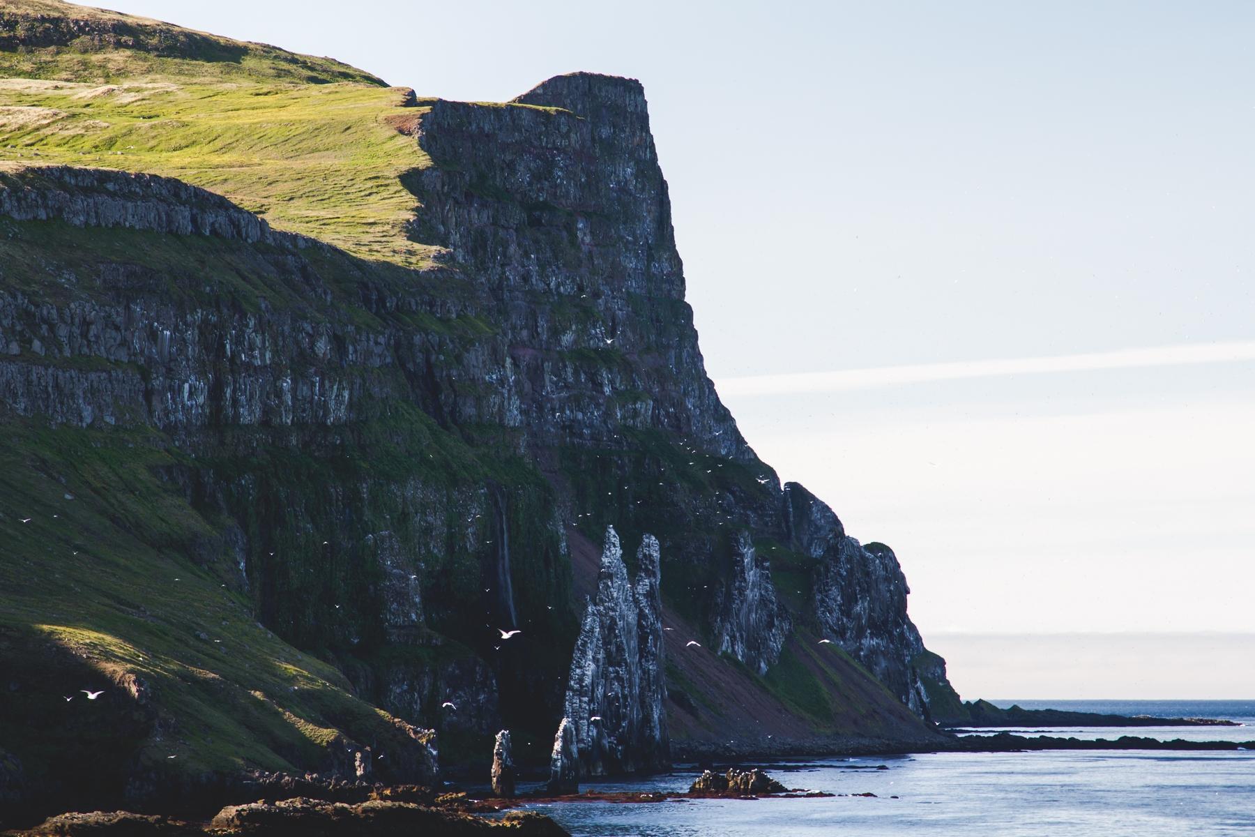 Hornstrandir, Islandia