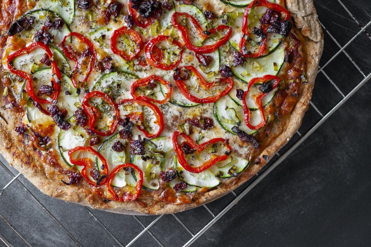 Pizza z norweskiego lasu