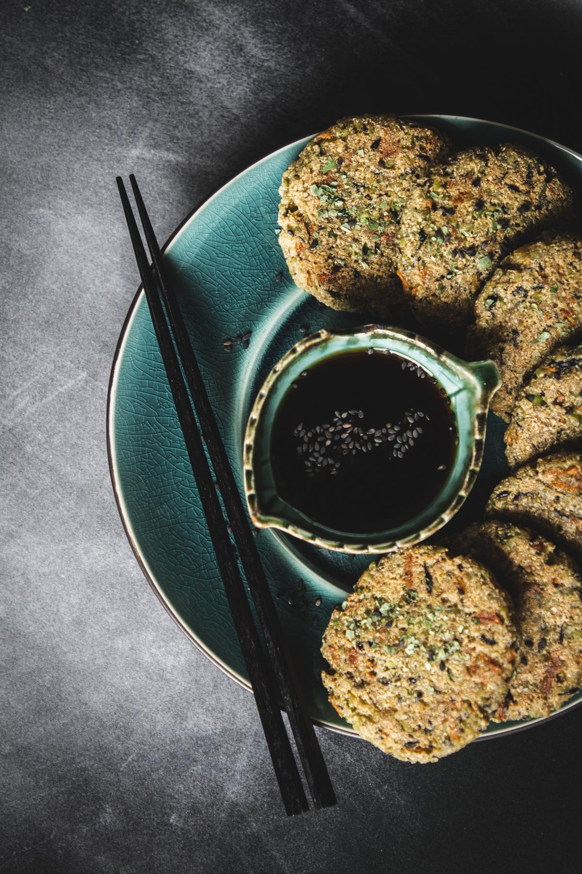Ganmodoki. Placki z tofu