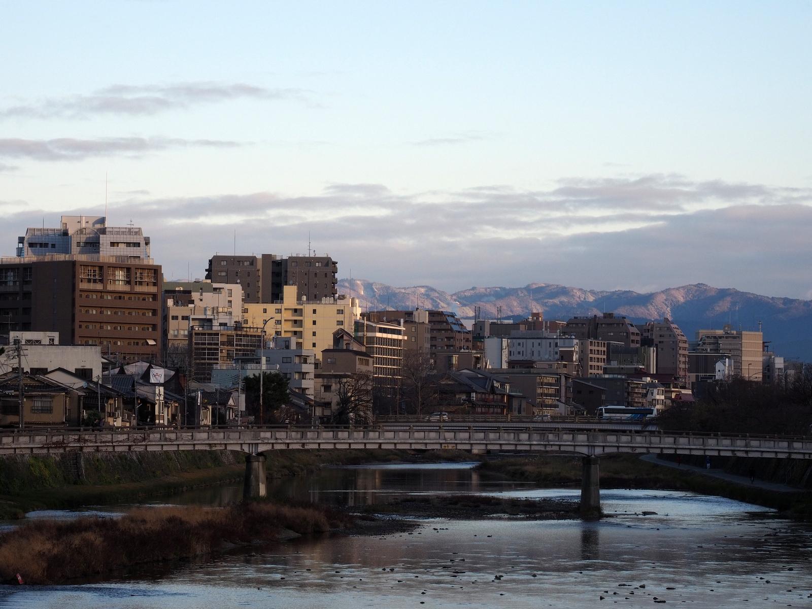 Rzeka Kamo, Kioto, Japonia
