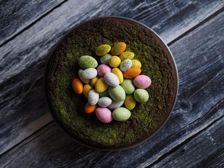 Påskekake. Ciasto czekoladowo-pomarańczowe